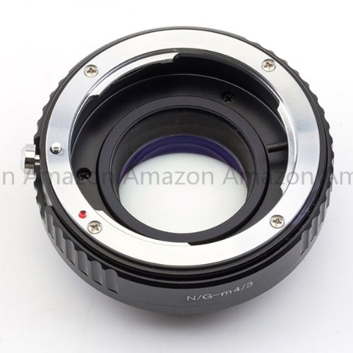 Generic Focal Reducer Speed Booster adapter Lens Turbo Nikon G mount Lens to Micro 4/3 Adapter