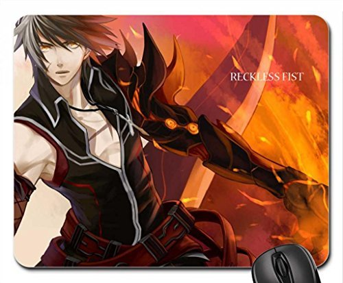 Reckless Fist Raven Mouse Pad, Mousepad (10.2 x 8.3 x 0.12 inches)
