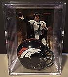 Denver Broncos NFL Helmet Shadowbox w/ John Elway card