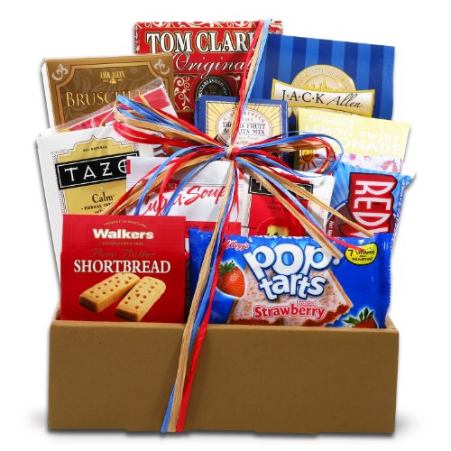 Grade A Student Snack Gift Box | Student Or Military Care Package