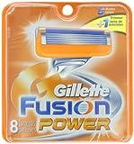 Gillette Fusion Power Men's Razor Blade Refills 8 Count