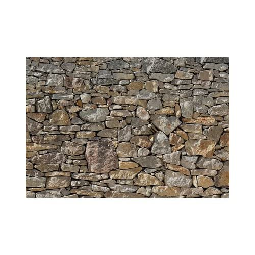 Stone wall huge wall mural 8 727 by komar for Amazon wall mural