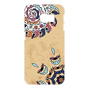 a AND b Designer Printed Mobile Back Cover / Back Case For Samsung Galaxy S6 Edge (SG_S6Edge_3D_835)