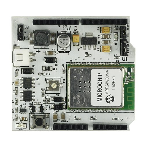 Sainsmart Wifi Shield V2.0 For Arduino, 802.11B Wi-Fi Certified, Wep (64-Bit And 128-Bit), Wpa/Wpa2 (Tkip And Aes) Psk