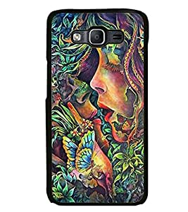 Aart Designer Luxurious Back Covers for Samsung Galaxy On 5 + Flexible Portable Thumb OK Stand by Aart Store.