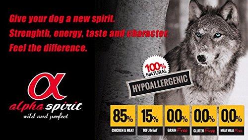 Crocchette Cane Adulto Alpha Spirit Multiprotein Super Premium 85% carne 2x1,47kg