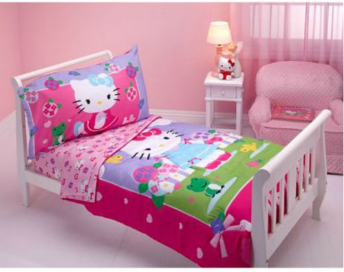 Hello Kitty Baby Bedding 3634 front