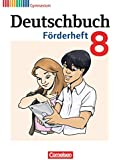 Deutschbuch Gymnasium - Fördermaterial: 8. Schuljahr - Förderheft