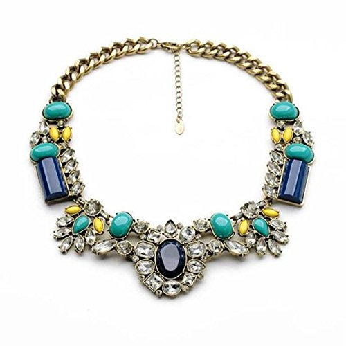 Vintage Style Crystal-Clear Evening Statement