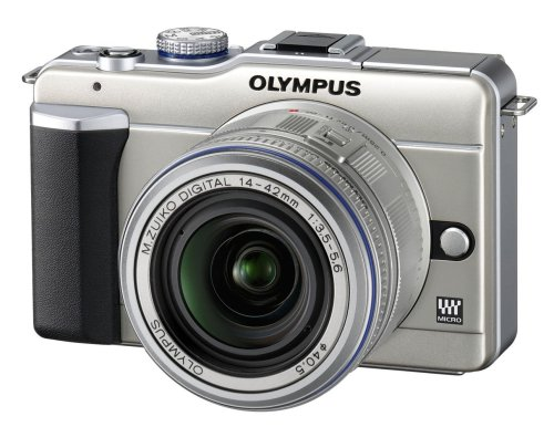 Olympus E-PL1 Compact System Camera - Champagne (14-42mm Silver Lens Kit)