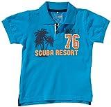 Name it - Polo mini con cuello de polo de manga corta para niño, talla 80 - talla alemana, color azul (dresden blue)