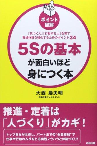 [ポイント図解]5Sの基本が面白いほど身につく本