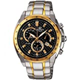 Casio Men's Analogue Watch EF-521SG-1AVEF with Stainless Steel Bracelet