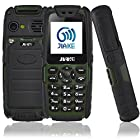 BMALL Unlocked Cell Phone with Dual SIM Card 2.0'' HD Display Shockproof/Waterproof feature phones GSM 850/900/1800/1900MHz (Green)