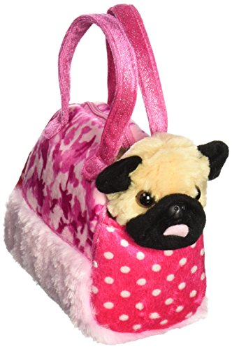 Aurora Fancy Pals Fancy Pink Camo Pet Carrier 8""