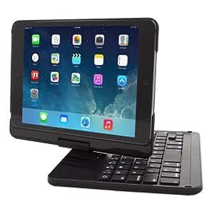 iPad Mini 1 / 2 / 3 Keyboard, Snugg™ [Black] Wireless Bluetooth Keyboard Case Cover [Lifetime Guarantee] 360° Degree Rotatable Keyboard For Apple iPad Mini 1, Mini 2, Mini 3