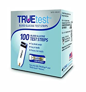 TRUEtest Test Strips, 100 Count