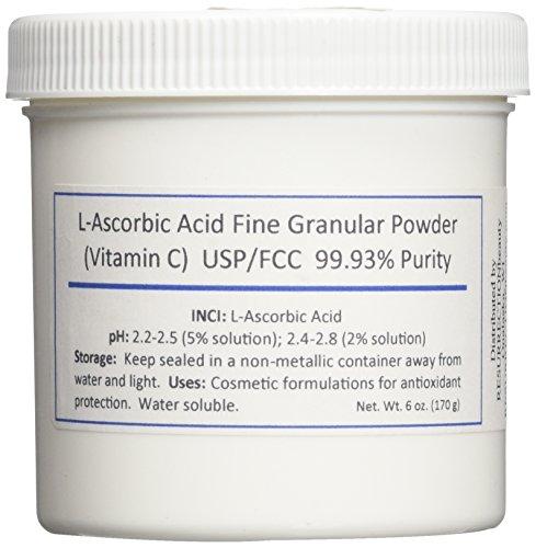 L ascorbic acid form of vitamin c