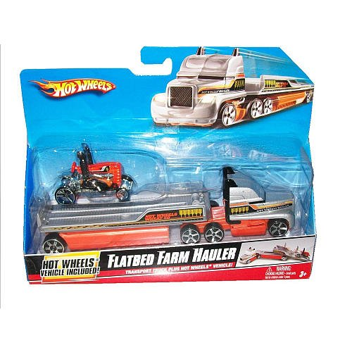 Hot Wheels Flatbed Farm Hauler (Flatbed Wheels compare prices)