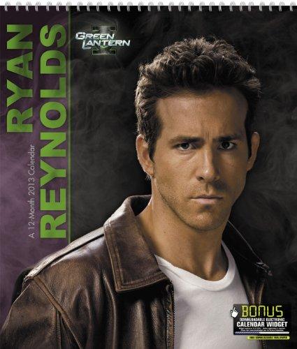 2013 Ryan Reynolds  Green Lantern Poster Wall Calendar