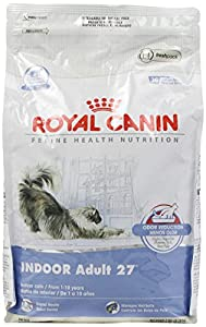 Royal Canin Dry Cat Food, Indoor Adult 27 Formula, 7-Pound Bag