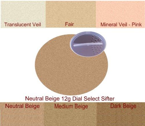 Watts Beauty Minerals - Neutral Medium - Huge 12g Sifter