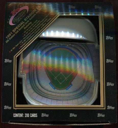 1991 Topps Stadium Club Baseball Set - Skydome - 1