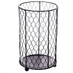 Large Chicken Wire Candle Holder