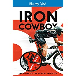 The Iron Cowboy The Story of the 50-50-50 [Blu-ray]
