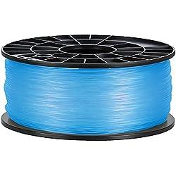 NuNus ABS Filament - 1kg (transparent blau, 1,75mm) *Premium Qualität für 3D Drucker MakerBot RepRap MakerGear Ultimaker uvm....