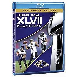 NFL Super Bowl XLVII Champions: 2012 Baltimore Ravens [Blu-ray]