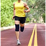 Besjex Compression Knee Sleeve 1 Pair To Support And Protect Your Joints And Muscles - Ideal To Prevent Swelling...
