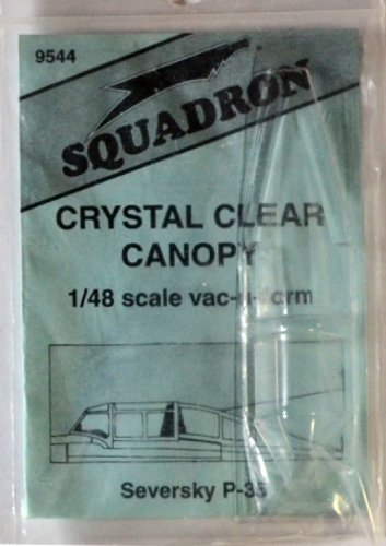 Squadron Products P-35 Vacuform Canopy