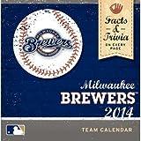 Milwaukee Brewers - 2014 Box Calendar