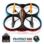AKASO K88 2.4GHz 4 CH 6 Axis Gyro RC...