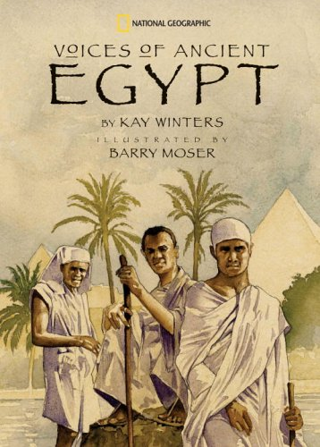 Voices of Ancient Egypt, Kay Winters, Barry Moser