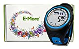 E-More® Waterproof Backlit Digital Multi-functional 3D Calorie Wrist Pedometer Watch With Tri-Axis Technology And USB Port (blue)