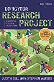 Doing Your Research Project: A Guide For First-Time Researchers