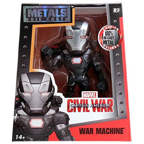 Metals Marvel 4 inch Classic Figure - War Machine (M59)