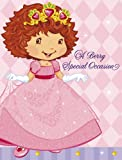 Strawberry Shortcake Princess Birthday Party Invitations and Thank yous (8)
