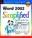 Word 2002 Simplified (Simplified (Wiley)) (0764535889) by Maran, Ruth