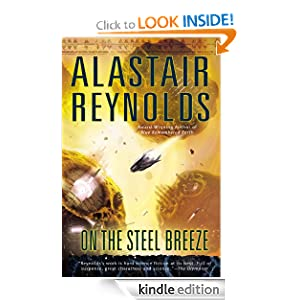 On the Steel Breeze (Poseidon's Children) by Alastair Reynolds