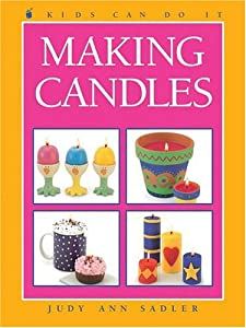 "Cover of ""Making Candles (Kids Can Do It)..."