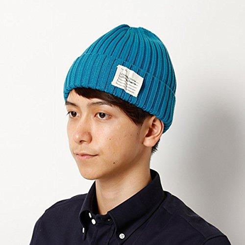 グレース(Grace) 帽子(ニットリブワッチ)【ターコイズ/頭周り約57~59cm】