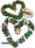 クリスマスリース作り(子ども会クリスマス会に人気の簡単2個工作キット