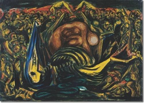 Men of Fire: José Clemente Orozco and Jackson Pollock