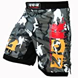 Camo Pro MMA Fight Shorts Camouflage UFC Cage Fight Grappling Muay Thai Boxing Army Camouflage Colour Urban Camouflage