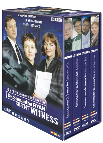 Gerichtsmedizinerin Dr. Samantha Ryan (Silent Witness) - Season 1 (4 DVDs)