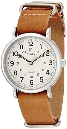 [タイメックス]TIMEX ウィークエンダー 40mm クリームダイアル キャメルレザーストラップ T2P492 メンズ 【正規輸入品】