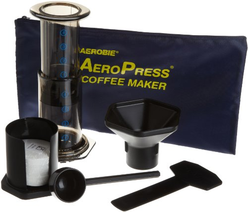 Great Features Of Aerobie AeroPress Coffee Maker with Tote Bag